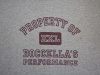 Grey Property of Boccella's Performance Tee Shirt
